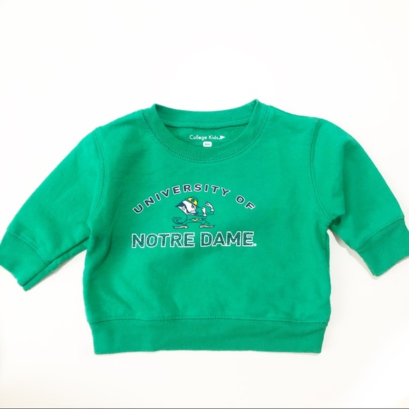 ad15dca0450c College Kids Shirts & Tops | University Of Notre Dame Pullover ...